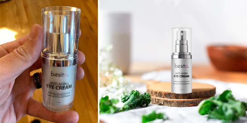 Review of BESITO Anti Aging Eye Cream with Vitamin K