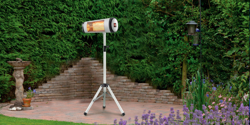 Xbeauty Electric Patio Heater in the use