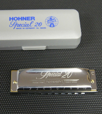Review of HOHNER 560PBX-C Special 20 Harmonica, 10 Holes Major C