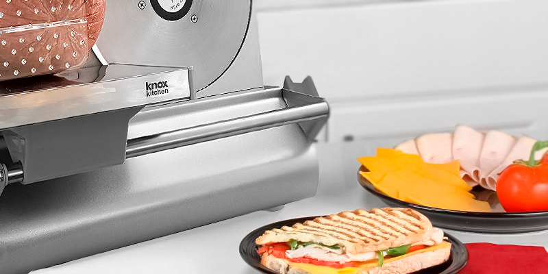 Knox Stainless Steel Food Slicer in the use