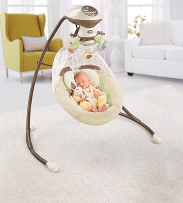 Review of Fisher-Price Sweet Surroundings Monkey Cradle 'n Swing