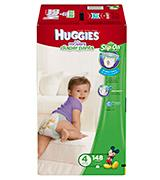 Huggies Slip On Pre-fastened design