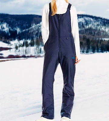 Review of Arctix Women's Essential Insulated Bib Overalls