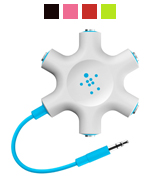 Belkin Rockstar Multi Headphone Audio Splitter