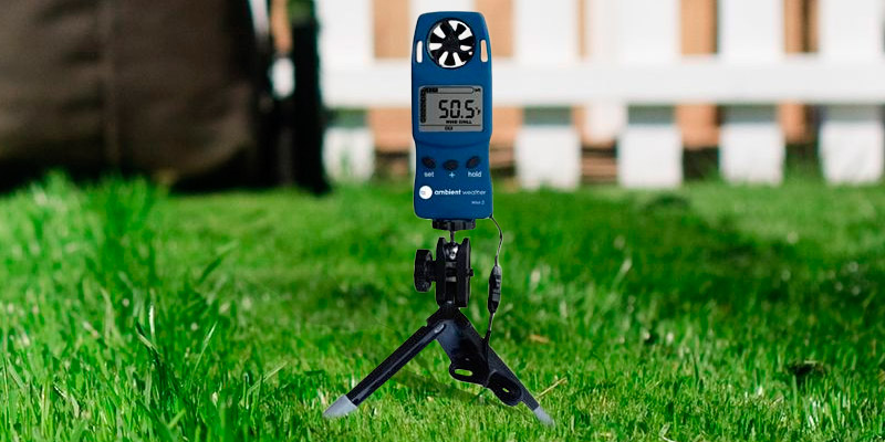 Ambient Weather WM-2 Handheld Weather Meter application