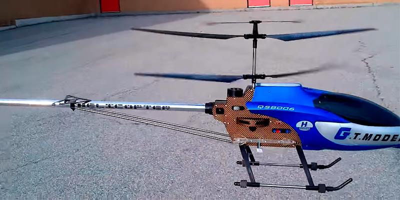 G.T. Model QS8006 RC Helicopter Builtin GYRO in the use