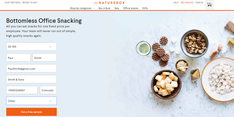 Review of NatureBox Food Delivery Service