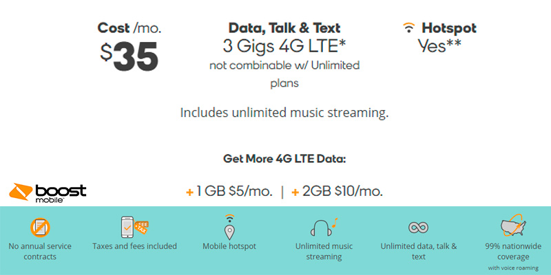 Boost Mobile Cell Phone Plans: Unlimited Talk, Text, Data & More in the use