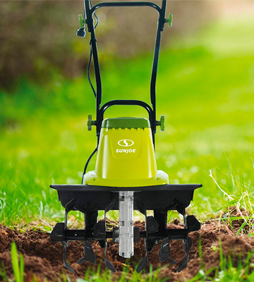 Review of Sun Joe Sun Joe 16-Inch 13.5 AMP Electric Garden Tiller/Cultivator