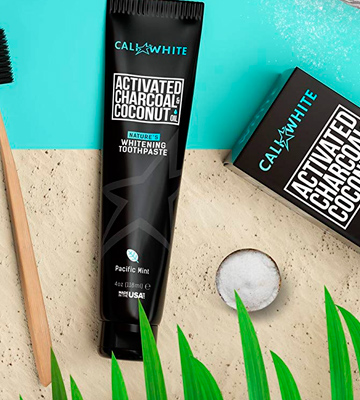 Review of Cali White Actived Charcoal&Coconut Oil Teeth Whitening Toothpaste