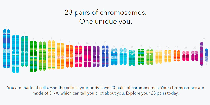 23andMe DNA Genetic Testing & Analysis in the use