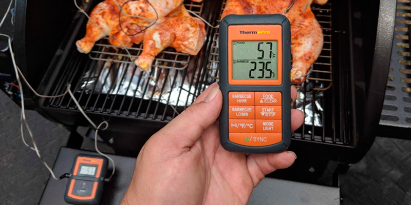 Review of ThermoPro TP-08 Remote Digital Wireless Kitchen Cooking Thermometer