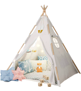 TazzToys Waterproof Base Kids Teepee Tent