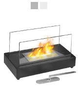 Moda Flame GF301801 Vigo Table Top Ethanol Fireplace