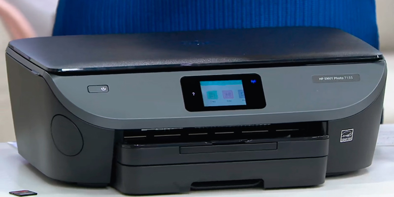 Review of HP Envy Photo 7155 All-in-One Photo Printer with Wireless Printing