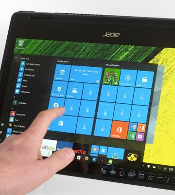 Review of Acer SP513-51-55ZR 4 Modes for Any Moment