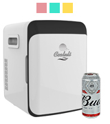 Cooluli CMF10LW Electric Cooler and Warmer Electric Cooler and Warmer (10 Liter / 12 Can)