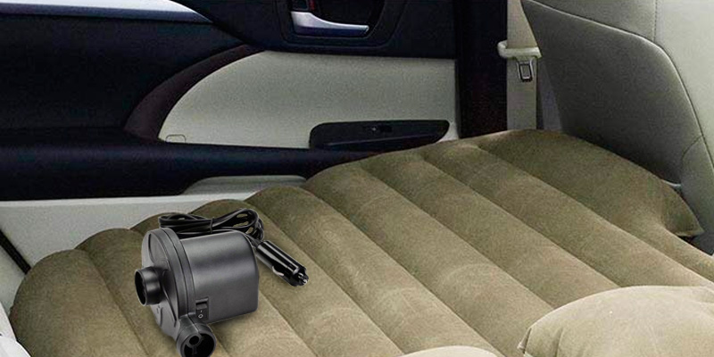 Detailed review of Yescom (33CAB001-138C-10) Car Air Bed