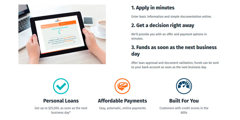 LendingPoint Personal Loans Service in the use