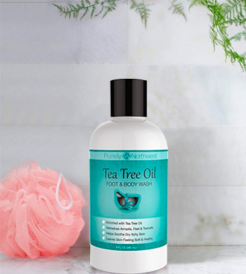 Review of Purely Northwest Tea Tree Oil Foot & Body Wash Antifungal, Helps Athletes Foot