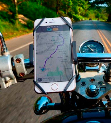 Review of CAW.CAR Accessories Crow Foot Metal Bike & Motorcycle Phone Mount