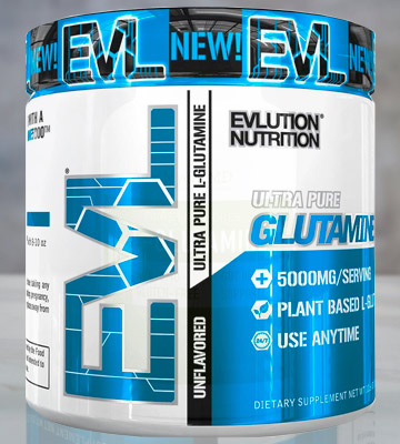Review of Evlution Nutrition 60 Servings Nutrition Glutamine 5000