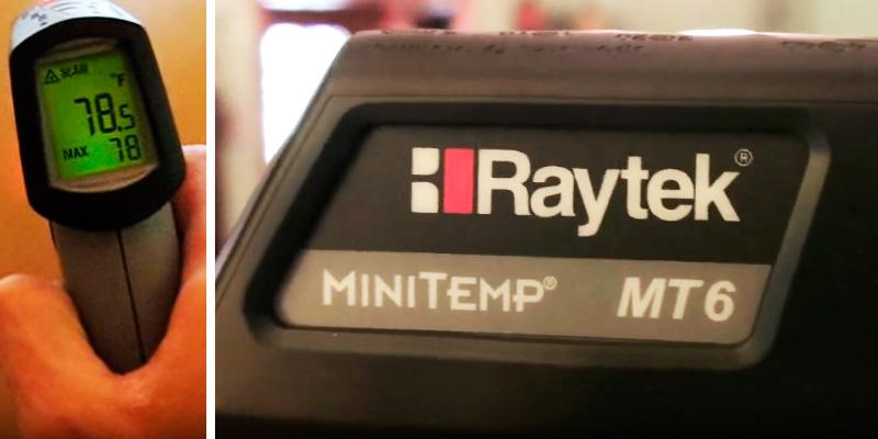 Review of Raytek MT6 Non-contact MiniTemp Infrared Thermometer