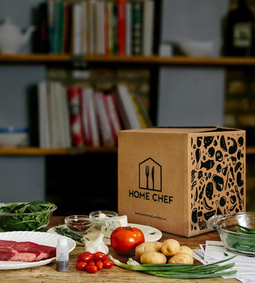 Review of Home Chef Meal Delivery Service Fresh Ingredients to Cook at Home