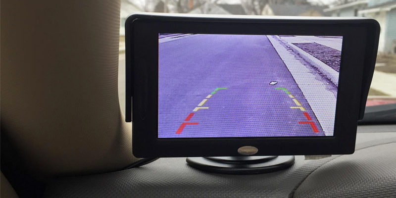 Review of Chuanganzhuo CAZBCMKT001 Backup Camera and Monitor Kit Rear-View