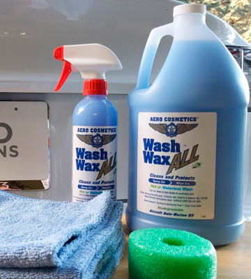 Review of Aero Cosmetics Wash Wax Wet or Waterless Car Wash Wax Kit