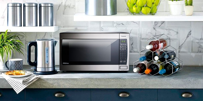 Panasonic NN-SN966S Countertop/Built-In Microwave Oven in the use
