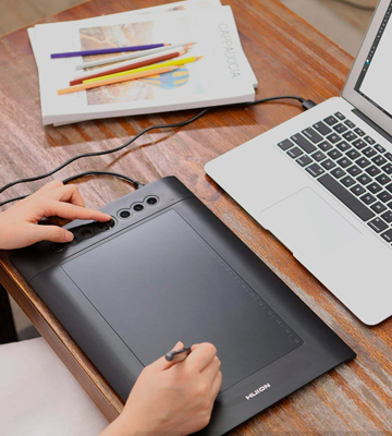 Review of Huion H610 Pro V2 Graphic Drawing Tablet with Tilt Function
