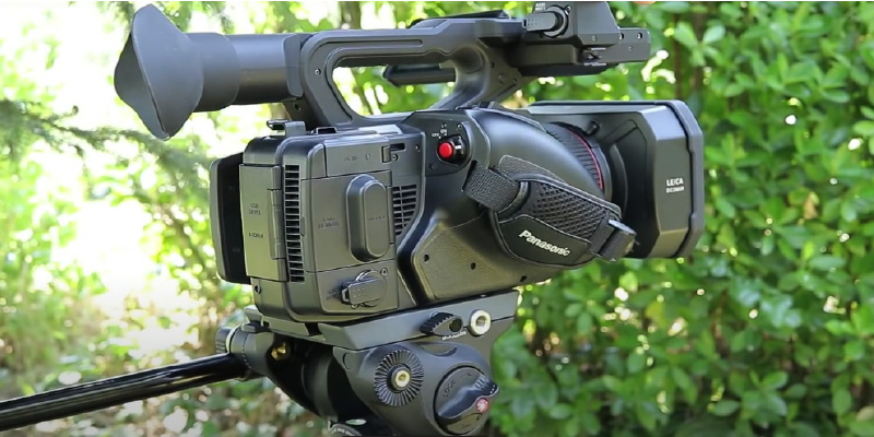Panasonic HC-X1 4K Ultra HD Professional Camcorder in the use