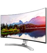 LG Elecronics 34UC88-B Curved UltraWide GHD Monitor