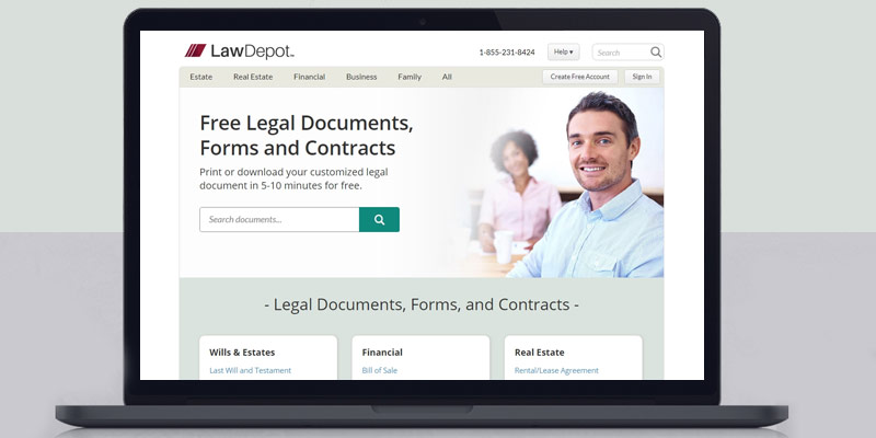 Review of LawDepot Real Estate Forms