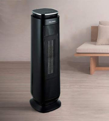 Review of Pelonis Tower Fan Ceramic Heater