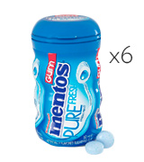 Mentos Fresh Mint Sugar-Free Chewing Gum with Xylitol