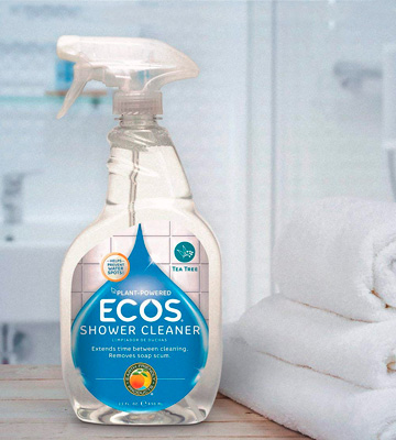 Review of Earth Friendly Products ECOS Shower Cleaner with Tea Tree Oil