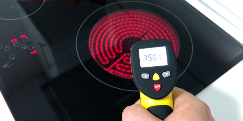 Avantek TG-3Y Dual Laser Infrared Thermometer application