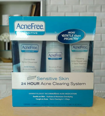 Review of AcneFree Sensitive Acne System