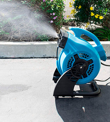 Review of XPOWER FM-48 Outdoor Misting Fan