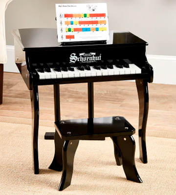 Review of Schoenhut 30-Key Fancy Baby Grand with Bench