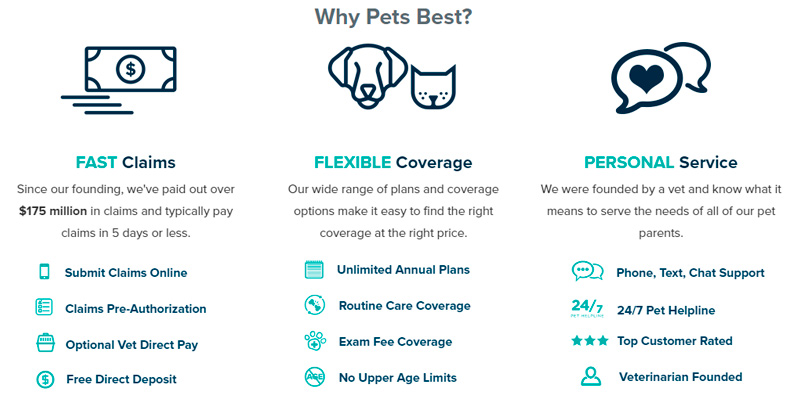 Pets Best Pet Insurance for Dogs and Cats in the use
