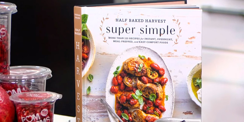 Review of Half Baked Harvest Super Simple: Hardcover More Than 125 Recipes