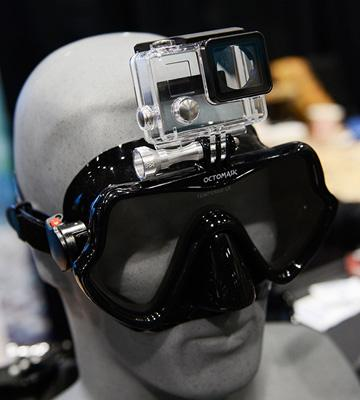 Review of OCTOMASK Frameless Dive Mask Compatible with Gopro for Scuba Diving and Snorkeling