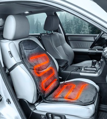Review of Wagan Heated Seat Cushion IN9438 Soft Velour 12V