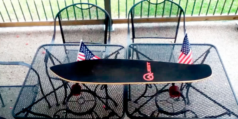 Quest Skateboards Super Cruiser Longboard application