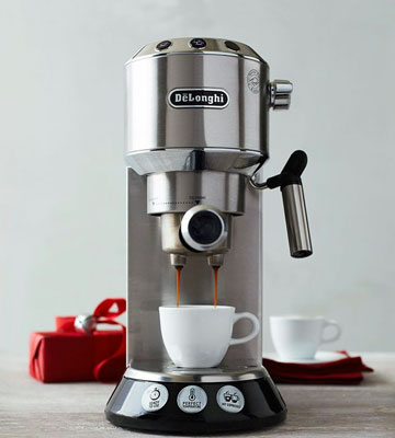Review of Delonghi EC 680.MB DEDICA 15-Bar Pump Espresso Machine