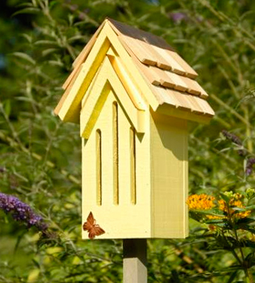 Review of Heartwood Mademoiselle Butterfly House in Yellow