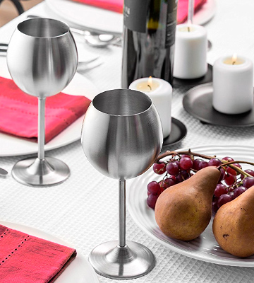 Review of Modern Innovations Stainless Steel Wine Glasses